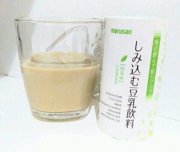 しみ込む豆乳飲料 抹茶味